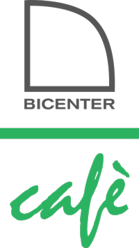 Bicenter caffe vertical logo