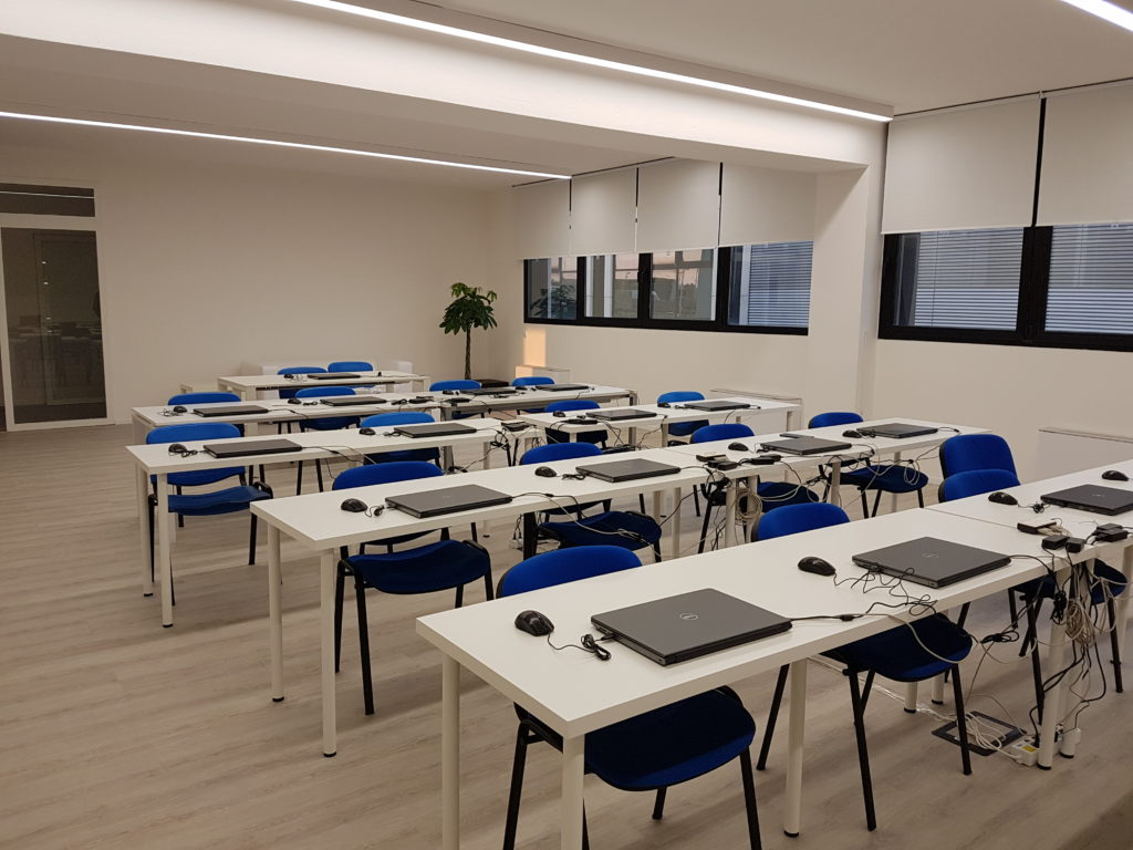 sala corsi informatica