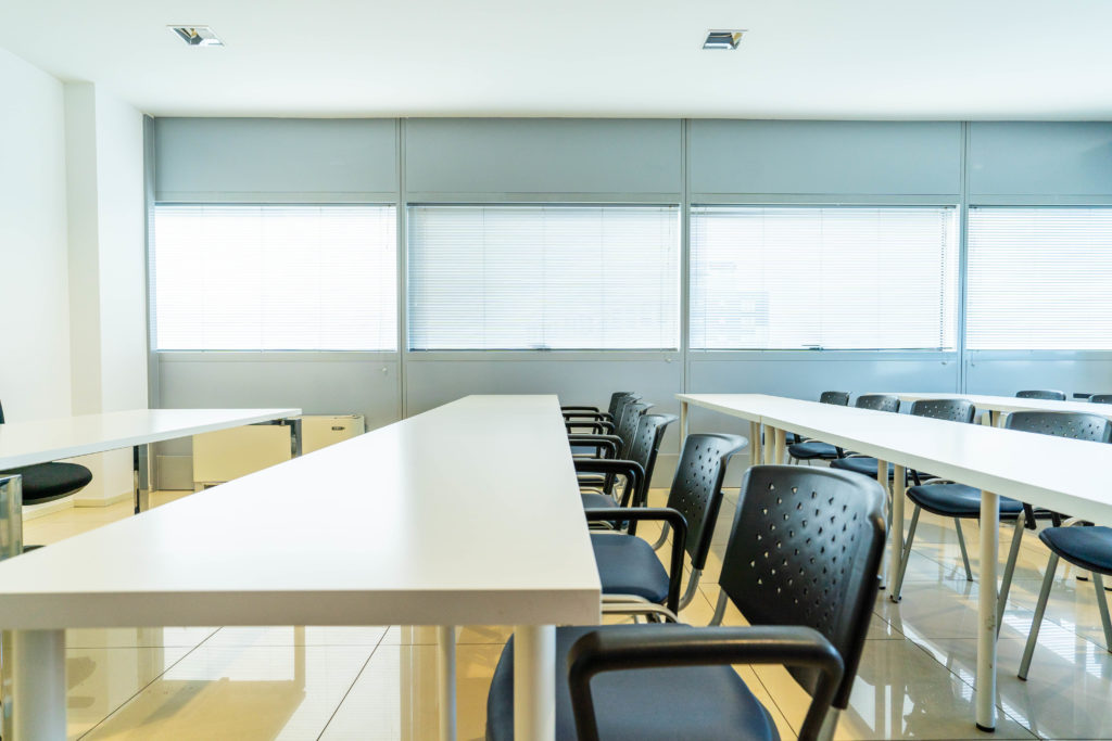 vista desk centrali sala riunioni Padova