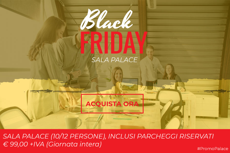 Promozione sale meeting Black Friday