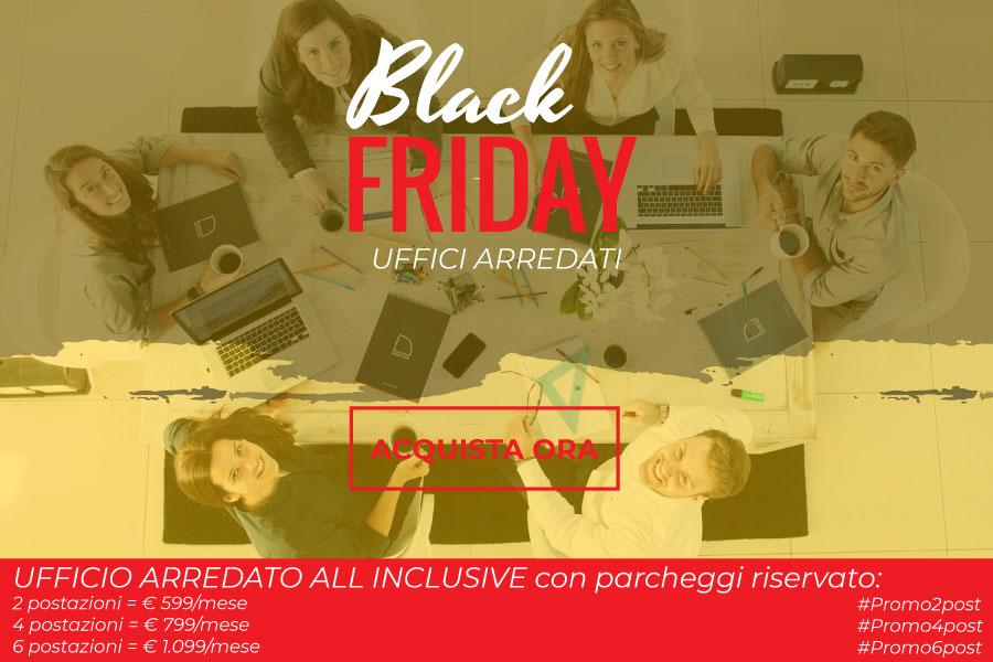 Promozione uffici arredati Black Friday