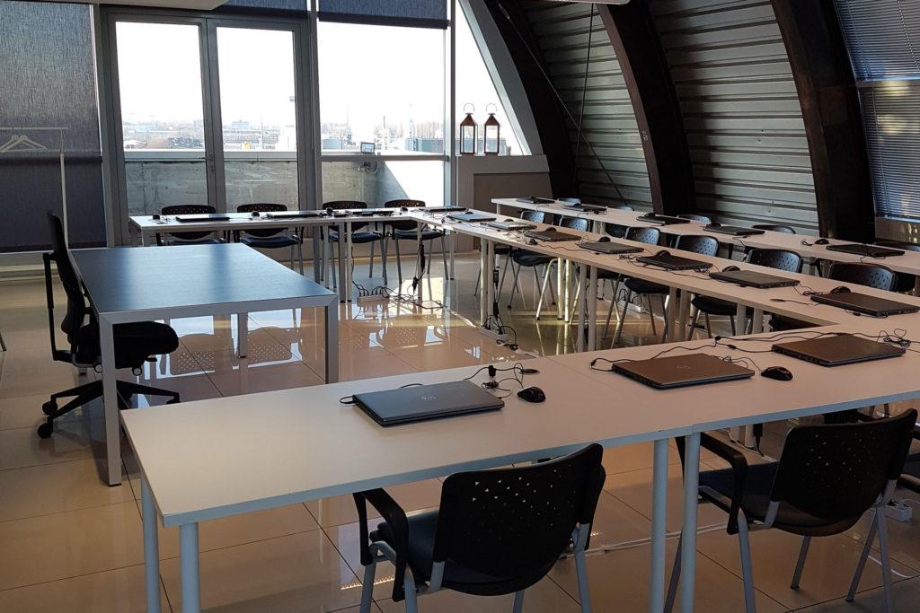 informatic training rooms padova