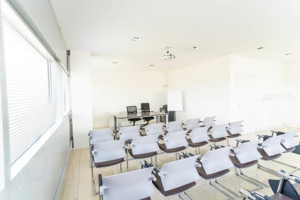 Panoramic view meeting rooms
