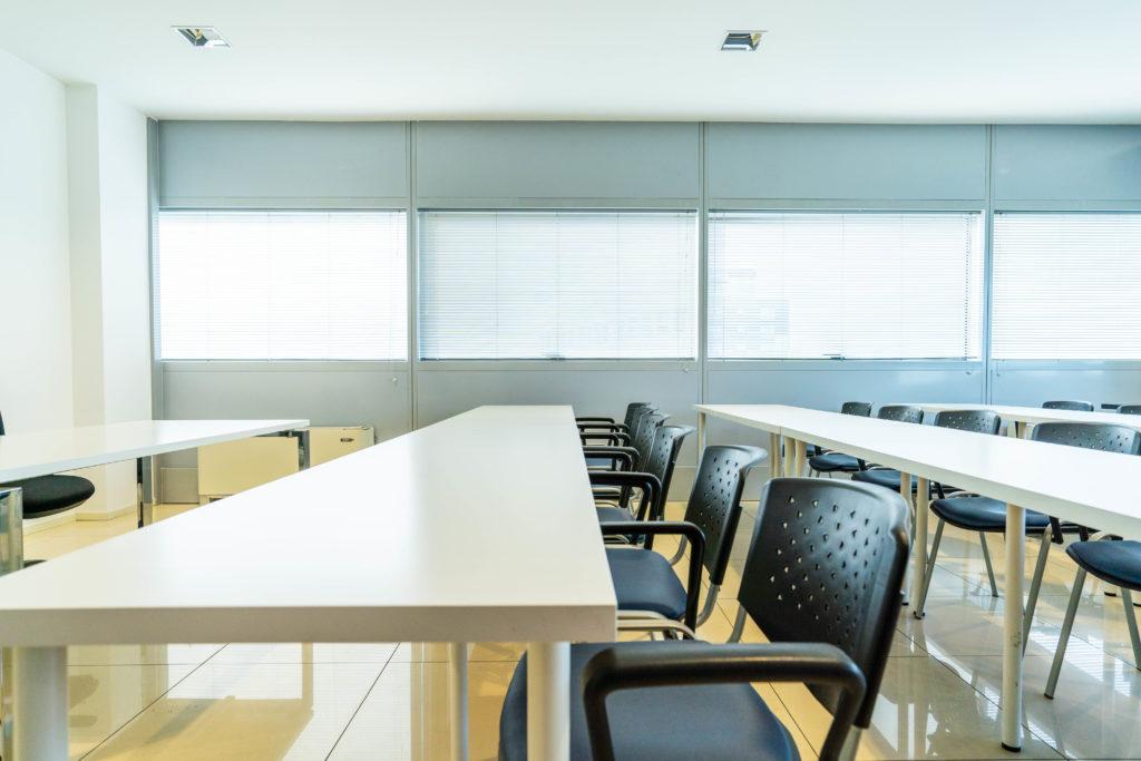 view desk new meeting room six floor